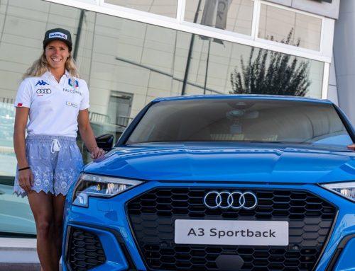 Marta Bassino incontra Audi A3 Sportback